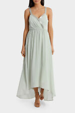 NEW Wayne Cooper Events Bugle Bead Evening Gown Mint