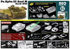 DRAGON 6521 1/35 SCALE Pz.Kpfw.III Ausf.M Kursk 1943 TANK NEO SMART KIT INTERIOR