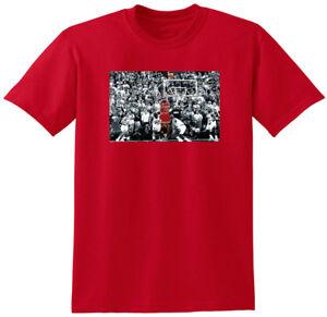"RED Michael Jordan Chicago Bulls ""THE SHOT"" T-Shirt"
