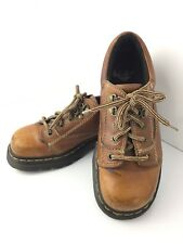 Dr. Martens 8A47 Oxford 6 M Lace Up Air Wair Work Boots Unisex Brown Leather