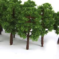 20pcs Model Trees Train Railroad Diorama Wargame Park Scenery N scale 8cm