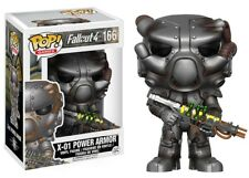 Funko - POP Games: Fallout - X-01 #166 Vinyl Action Figure New In Box