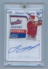 Jake Lamb 2015 National Treasures Silhouette Auto Tag Patch Rc 1/1 Rookie 1 of 1