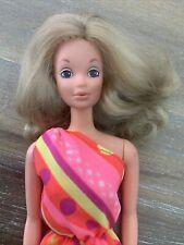 Vintage Free Moving PJ Doll #7281 BARBIE 1975 - Pretty Best Buy Halter Dress