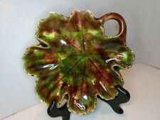 Vintage Jamieson's Capistrano California Ceramic Leaf Shaped Dish