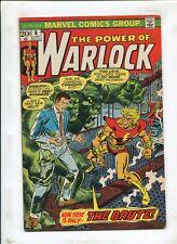"WARLOCK #6 - ""THE BRUTE!"" - (6.0) 1973"