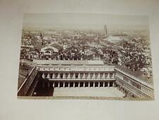 NAYA / VENISE VENEZIA 1870 Panorama preso dal Campanile VINTAGE Albumen Print