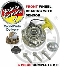FOR VAUXHALL ZAFIRA  2005--> FRONT WHEEL BEARING WITH SPEED SENSOR 93188477