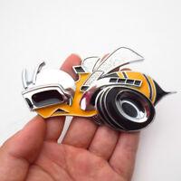 1Pc Super Bee Hornet Metal Car Grill Emblem Badge Sticker Auto Body Decoration
