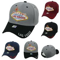 Welcome Las Vegas Baseball Cap Casual Hats Fashion Adjustable Caps Hip Hop