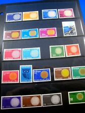 EUROPA/CEPT - 1970 - COMPLETE FROM 20 COUNTRIES - MNH        (kbe11)