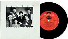 "DRAGON - BODY AND THE BEAT - 7"" 45 VINYL RECORD w PICT SLV - 1984"