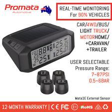 PROMATA 4x4 TPMS | External Solar Tyre Pressure Monitoring System Wireless Mata1