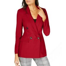 INC NEW Women's Double-breasted Lined Blazer Jacket Top TEDO