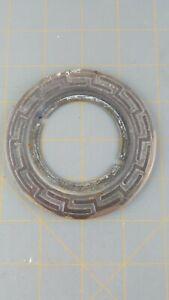 Vintage Antique Mortise Door Lock Door Plate Brass Or Copper Circle Circular