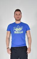 Adidas Shirt T-Shirt Blue Size S MENS