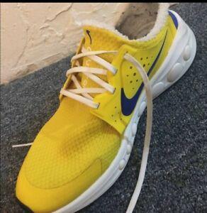 Nike Cruzrone CD7307 700 Yellow Blue Size 14