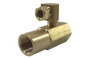 EN4068 Brass Siphon Nozzle Adapter 1/8' NPT Oil Intake For Hago 030L4068 60656