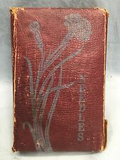 Heath & Gills 4-Sided Folding Leather Superfine Needle Book Case Czechoslovakia
