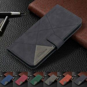 For Xiaomi Poco X3 NFC Redmi 9 9A Note 9 Case Magnetic Wallet Flip Holder Cover