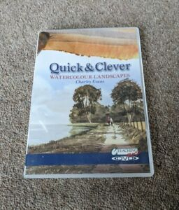 WATERCOLOUR LANDSCAPES Quick And Clever Charles Evans Region Free UK DVD