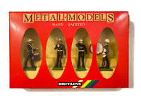 Britains 7203 Royal Marine Drum and Bugle Metal-Models Hand Painted (Soldiers)