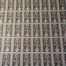 FEUILLE SHEET TIMBRE SYSTÈME MÉTRIQUE N°998 x50 1954 NEUF ** LUXE MNH COTE 300€