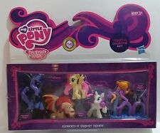 2013 HASBRO MY LITTLE PONY ELEMENTS OF HARMONY FRIENDS CHARACTER COLLECTION SET