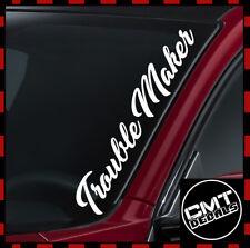 U Mad Bro coche/van Parabrisas Etiqueta Engomada JDM Euro Dub - 17 Colores 550 mm