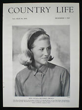 NICOLA BLUNDELL BROWN DON ESSERY LADY PARK KELSO 1pp PHOTO ARTICLE 1967