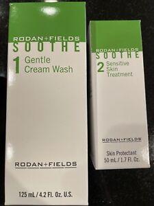 Rodan + Fields Soothe Sensitive Skin Treatment Step 1+ 2, Sealed! New But..read