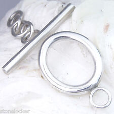 TG40 Toggle 32mm SILBER 925 Verschluss f. Kette u. Armband silver clasp 32mm
