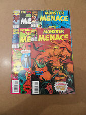 Monster Menace 1 - 4 . Lot Complet . Marvel 1993 / 94 .