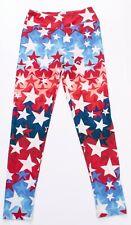 LuLaRoe American Stars Design Womens Yoga Leggings Stretch Pants One Size