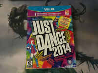 Just Dance 2014 Bundle with Wii Remote Plus Nintendo Wii Game + Case + Manual
