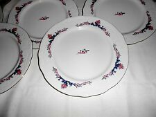 "8 Menuet Poland Royal Vienna Collection 10 5/8"" Dinner Plates - Excellent"