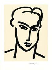 Henry Matisse FEMME IV poster stampa d'arte immagine litografia 60x45cm