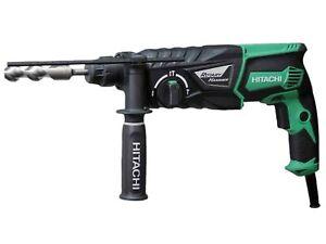 Hitachi (HiKoki) DH26PX 26mm 240V SDS Plus Rotary Hammer Drill and Side Handle