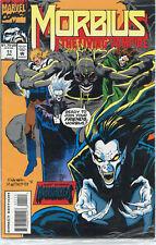 Morbius: The Living Vampire Issue #11 (July 1993, Marvel Comics)
