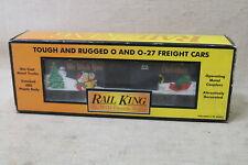 MTH Rail King O/O-27 2000 Christmas Holiday Reefer Box Car #30-7454 BNIB VTG FS