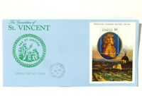 1991 Grenadines of St Vincent Mozart 200th Anniversary of Death FDC #3