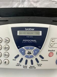 Brother FAX-575 Personal Small Business Fax Copy Machine & Phone