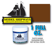 Model Shipways 1oz. Bottle -Hull Umber Paint for Wood Models & Historic Ships