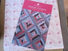 "10"" Paper Piecing Squares & Paper Stories Quilt Pattern Missouri Star Quilt Co."