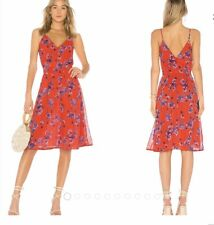 HOUSE OF HARLOW 1960 IRIS CORAL FLORAL DRESS Sz 1X 🌹Great Condition 🌹