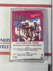 Los Tigres Del Norte Internacionalmente Norteños cassette Fonovisa