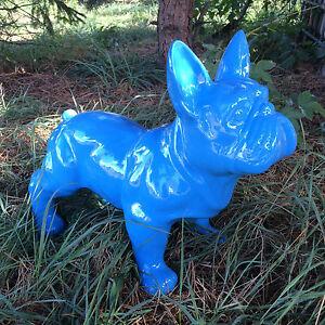 französische bulldogge 35 cm x 45 cm groß Designer Demo, Figur, DEKO