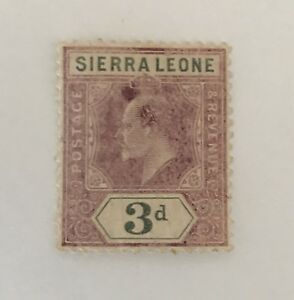 Sierra Leone Sg 91 Lmm Cat £55