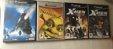 Lote 4 Juegos Nintendo Gamecube X Men Shrek The Polar Express