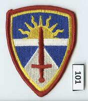 Dealer Dave Military Patch TEST & EXPERIMENTATION COMMAND, ARMY, SSI  (101)
